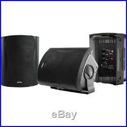 Wintal CLASS6AB 6.5-inch Active Box Speakers Black RRP $269.00