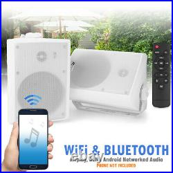 Wireless WiFi & Bluetooth Active Speakers Airplay DLNA Android Multi-Room 50w