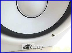 Yamaha HS5 5 inch Powered Studio Monitor Pair White Open Box+ Cables JAPAN